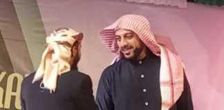 Masruri Zuhdi, Kasatkoryon Banser Negeri Besar Way Kanan memimpin pengawalan Syekh Ali Jaber